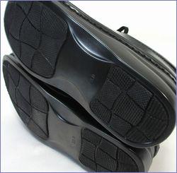 ia-ok靴  エ―オーケー  ak84801bl  ブラック  底画像