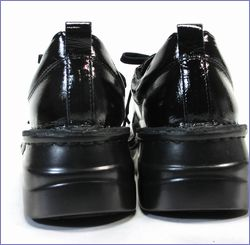 a-ok靴  エ―オーケー  ak84801bl  ブラック  カカト画像