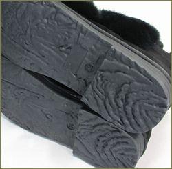 ashline アシュライン as177611bl ブラック  底の画像