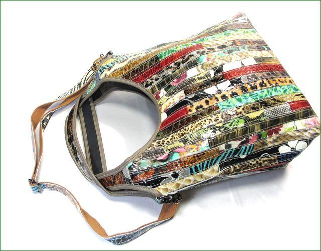 アシュライン エナメルのバッグの全体画像