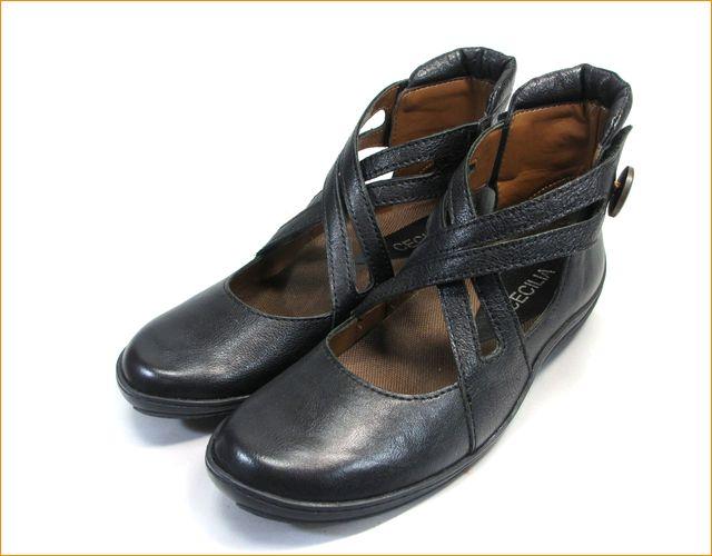 cecilia 靴 セシリア  ce1918bl ブラック 全体画像