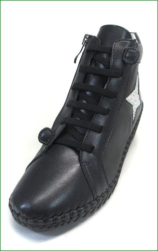 carissimoalte  カリシモアルテ cs17273Abl  ブラック 左靴の画像