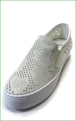 carissimoalte  カリシモアルテ cs61982iv  アイボリー 左靴の画像