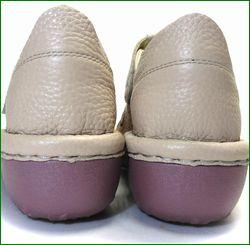 エスタシオン靴 estacion  et06ok  オークベージュ カカトの画像