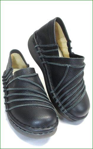 エスタシオン靴 estacion et105bl  ブラック 右画像