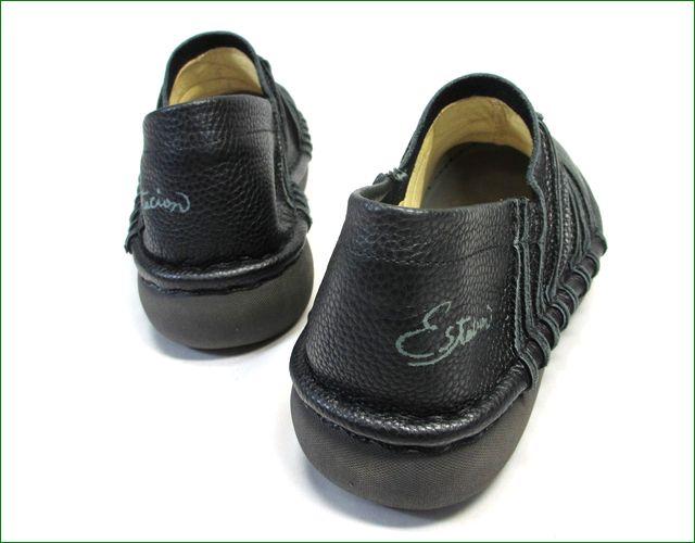 エスタシオン靴 estacion et105bl  ブラック パーツ画像