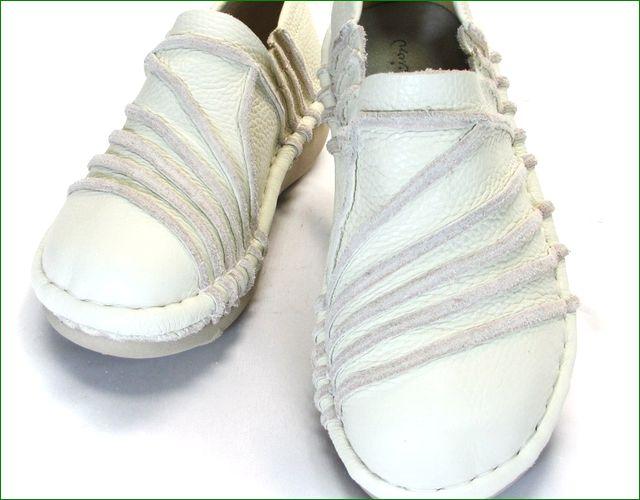 エスタシオン靴  estacion  et105iv アイボリー アップ画像
