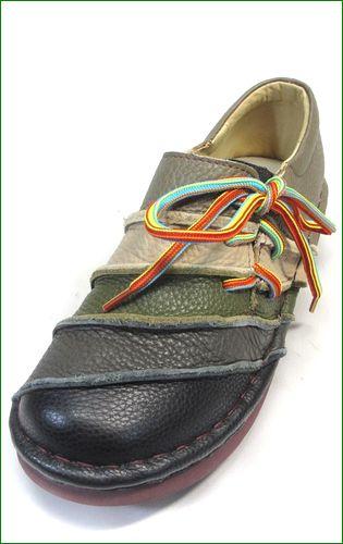 エスタシオン靴  estacion  et110blm ブラックマルチ 左画像
