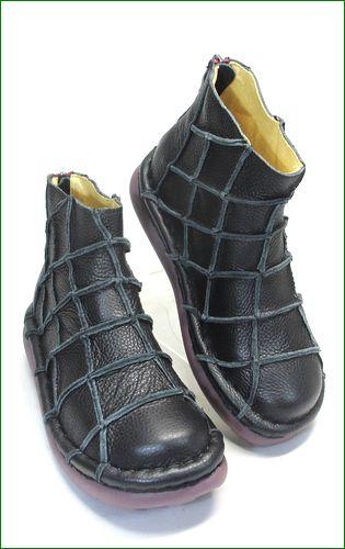 エスタシオン靴 estacion et1451bl   ブラック 右画像