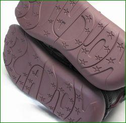 エスタシオン靴 estacion et1451bl   ブラック 底の画像