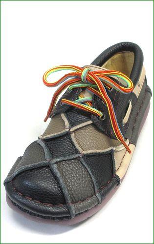 estacion靴  エスタシオン et154blm ブラックマルチ  左の画像