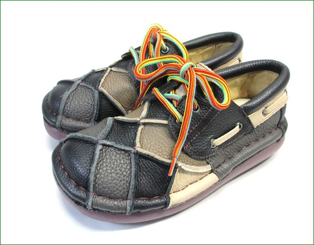 estacion靴  エスタシオン et154blm ブラックマルチ  全体画像