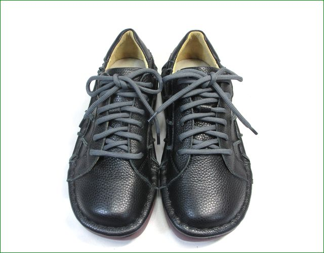 estacion靴  エスタシオン et1551bl ブラック  正面の画像