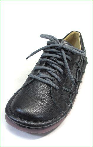 estacion靴  エスタシオン et1551bl ブラック  左の画像