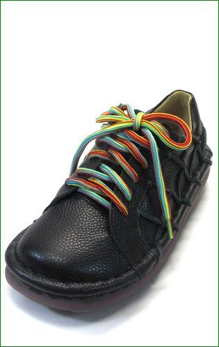estacion靴  エスタシオン et155bla ブラック  左の画像