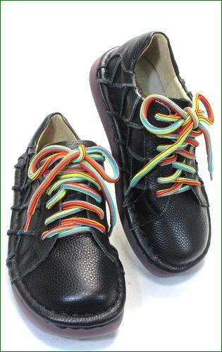 estacion靴  エスタシオン et155bla ブラック  全体画像