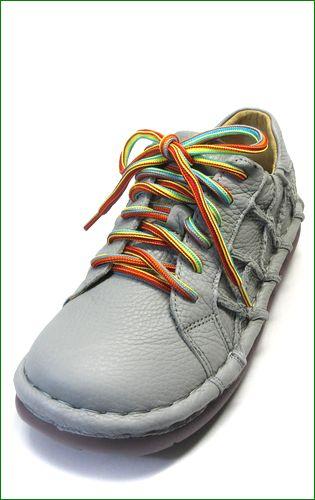 estacion靴  エスタシオン et155gy グレイ  左の画像