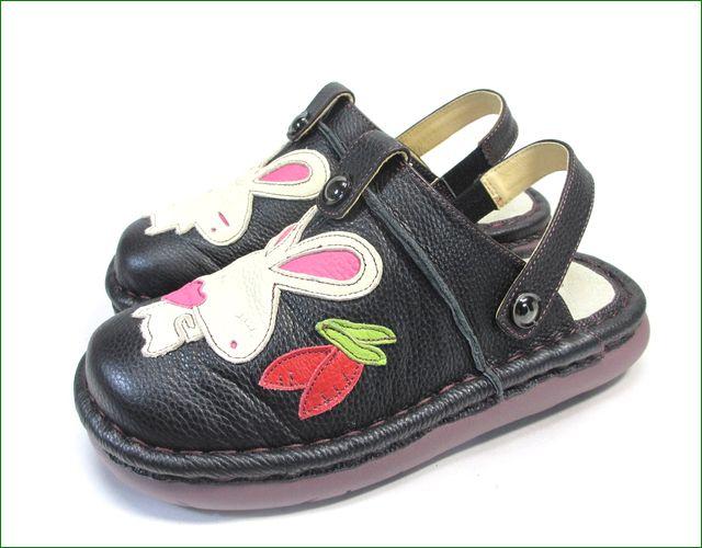 エスタシオン靴 estacion et156bl   ブラック ベルトの画像