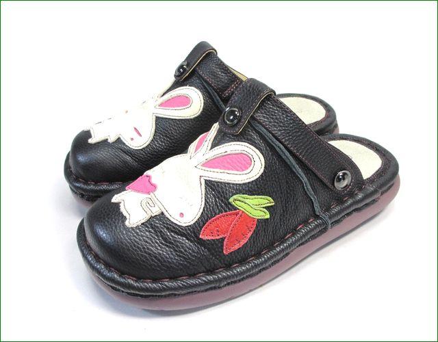 エスタシオン靴 estacion et156bl   ブラック 全体画像