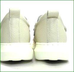 エスタシオン靴 estacion et2001ivo  アイボリー かかと画像