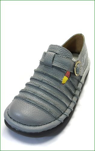エスタシオン靴  estacion  et2441gy グレイ 左画像