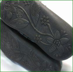 エスタシオン靴  estacion  et2441gy グレイ  底画像