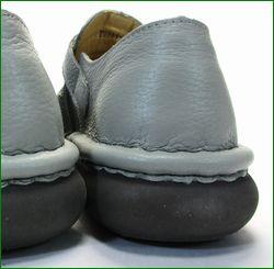 エスタシオン靴  estacion  et2441gy グレイ  かかと画像