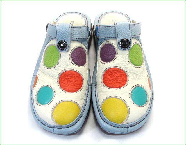エスタシオン靴  estacion  et247Bivmt アイボリーマルチ 全体画像