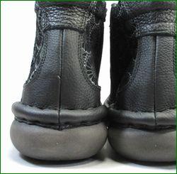 エスタシオン靴 estacion et262bl  ブラック カカト画像