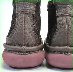 エスタシオン靴 estacion et262br  ブラウン カカト画像