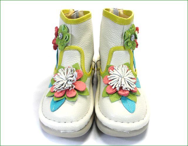 エスタシオン靴 estacion   et271iv アイボリー  アップ画像