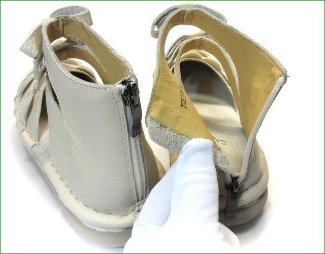 エスタシオン靴 estacion  et285iv アイボリー パーツの画像