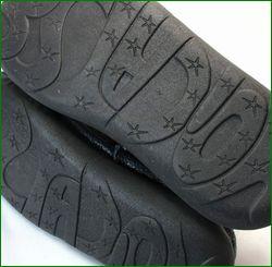 エスタシオン靴 estacion  et292nv ネイビー 底の画像