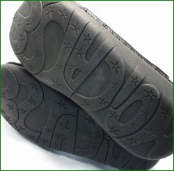 エスタシオン靴  estacion  et3371ivbl アイボリーブラック ソール画像