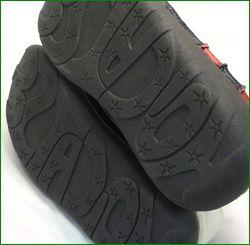 エスタシオン靴  estacion  et337ivbl アイボリーブラック ソール画像