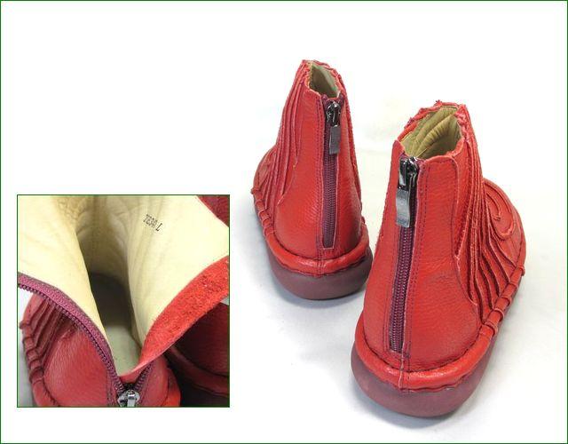 エスタシオン靴 estacion et340re  レッド パーツ画像