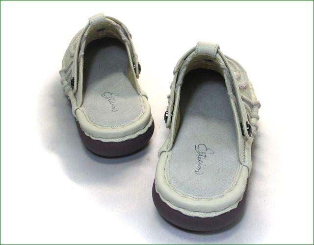 エスタシオン靴  estacion  et34iv アイボリー 部分画像