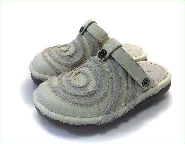 エスタシオン靴  estacion  et34iv アイボリー 全体画像