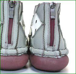 エスタシオン靴 estacion et352gyiv   グレイアイボリー 後ろ画像