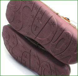 エスタシオン靴  estacion  et362br ブラウン ソール画像