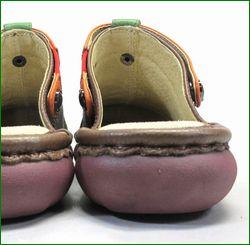 エスタシオン靴  estacion  et362br ブラウン 後ろ画像