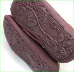 エスタシオン靴  estacion  et385spk サーモンピンク ソール画像