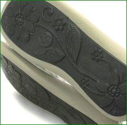 エスタシオン靴  estacion  et387iv アイボリー ソール画像
