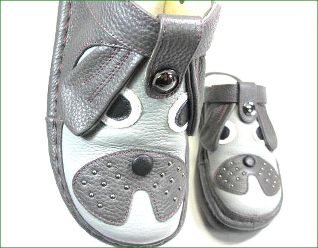 エスタシオン靴  estacion  et390Bdgy ダークグレイ アップ画像