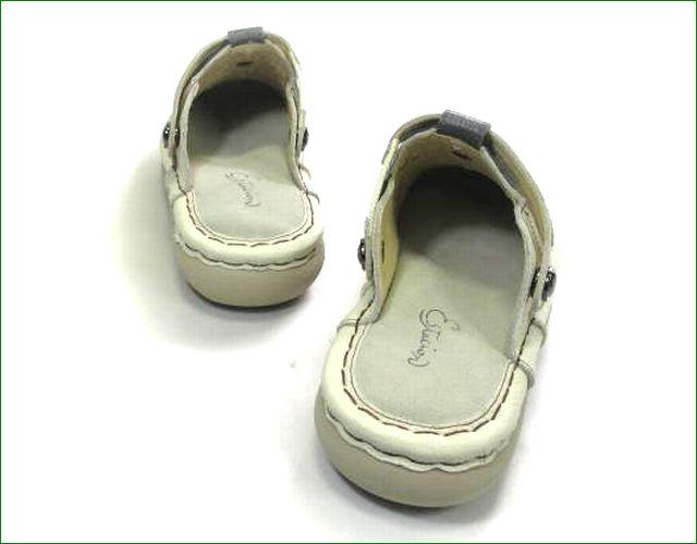 エスタシオン靴  estacion  et398Biv アイボリー 部分画像