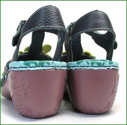 エスタシオン靴 estacion   et4081nv ネイビー  カカトの画像