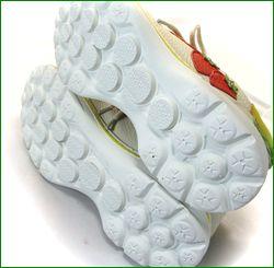 エスタシオン靴 estacion et521iv  アイボリー ソール画像
