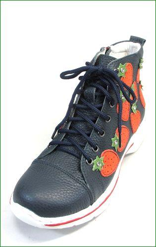 エスタシオン靴 estacion et523nv  ネイビー 左画像