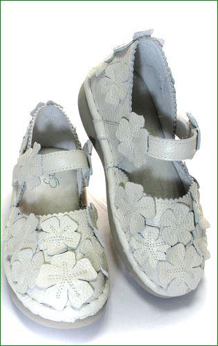 エスタシオン靴 estacion  et78iv アイボリー 全体画像