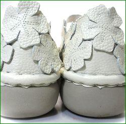 エスタシオン靴 estacion  et78iv アイボリー   カカトの画像